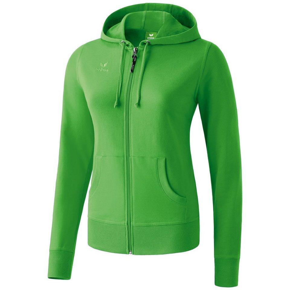 ERIMA Hooded Jacket Damen in green