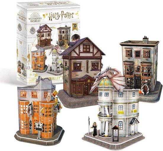 Revell® 3D-Puzzle »Harry Potter Diagon Alley™ Set, die Winkelgasse«, 272 Puzzleteile