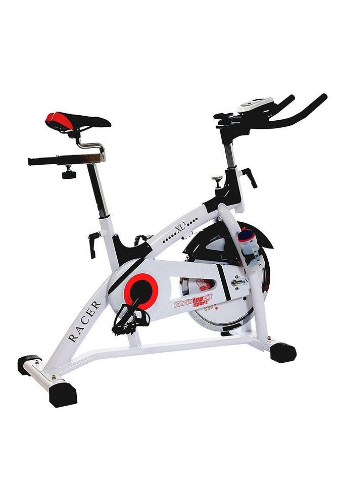 Racer Bike, Christopeit, »Racer XL 2«, 15 kg Schwungrad in weiß