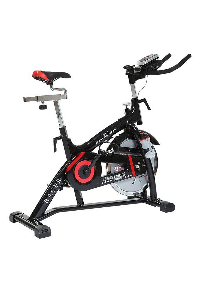 Racer Bike, Christopeit, »Racer XL 2«, 15kg Schwungrad in schwarz