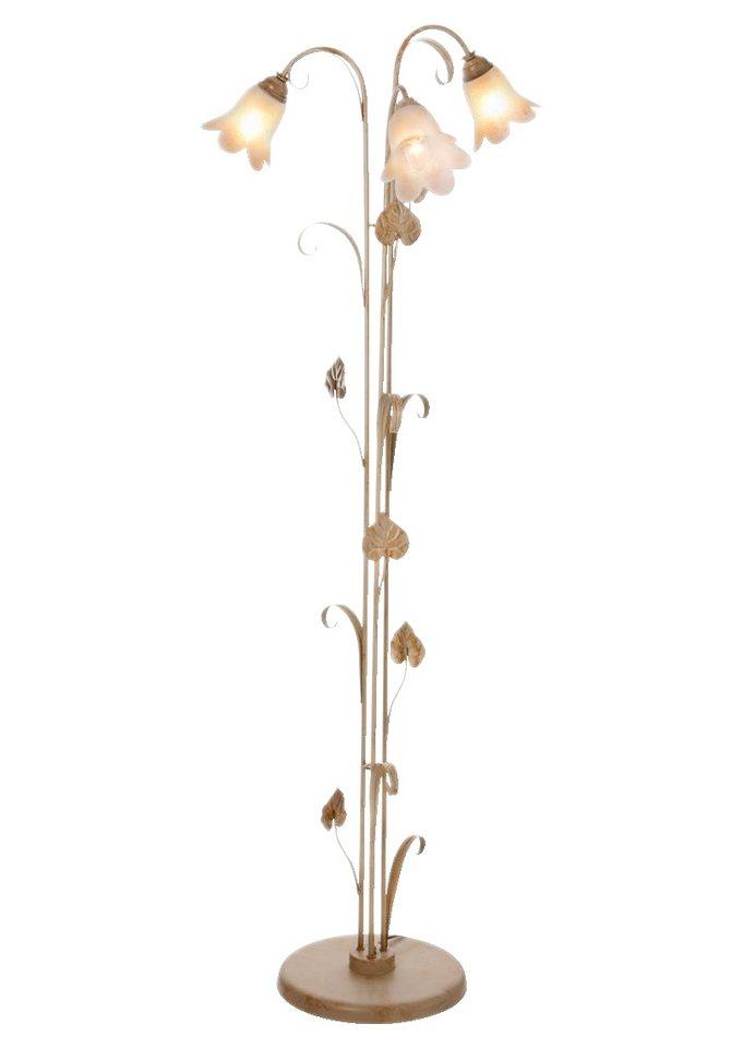 stehlampe florentiner 3 flammig online kaufen otto. Black Bedroom Furniture Sets. Home Design Ideas