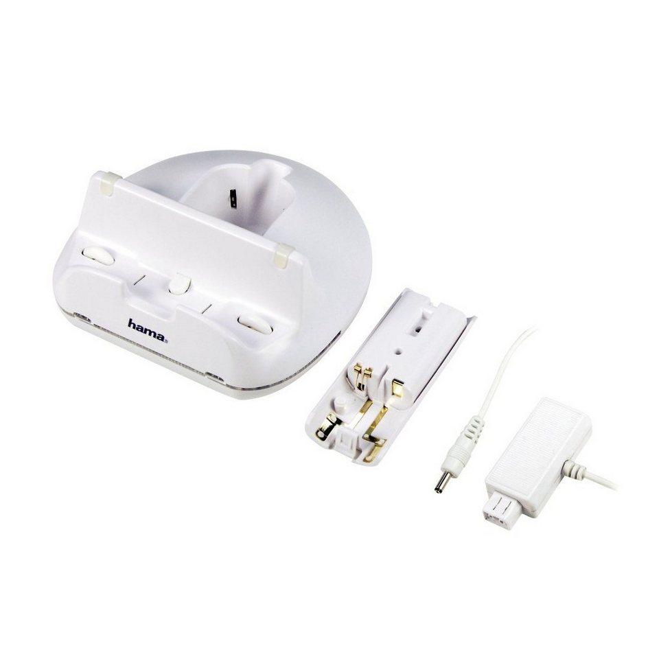Hama Triple Charger für Nintendo Wii U, Weiß in Weiß