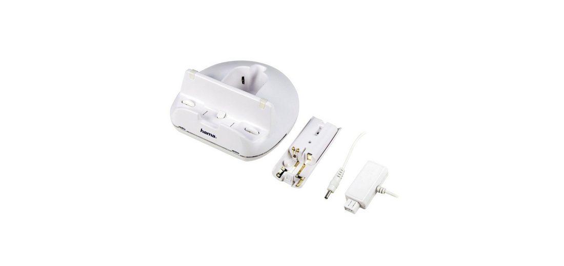 Hama Triple Charger für Nintendo Wii U, Weiß