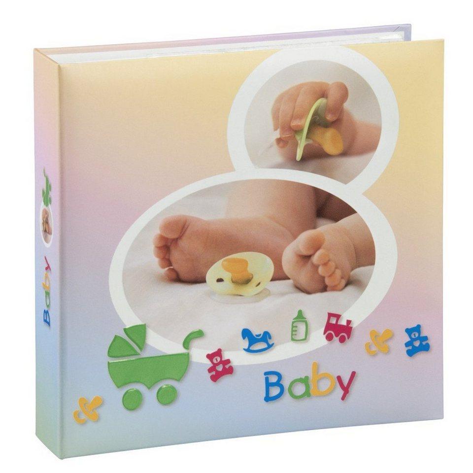 """Hama Babyalbum """"Sascha"""", für 200 Fotos im Format 10x15 cm in Coloured"""