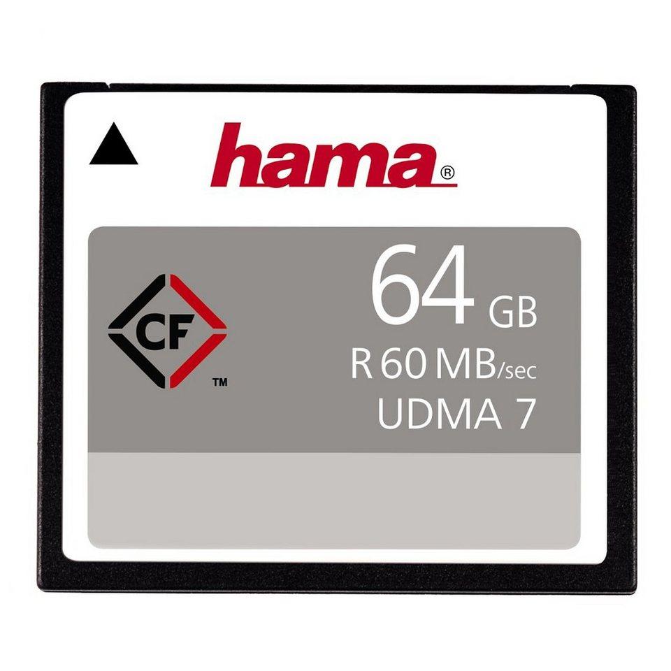 Hama Speicherkarte CompactFlash 64GB 60MB/s in Schwarz
