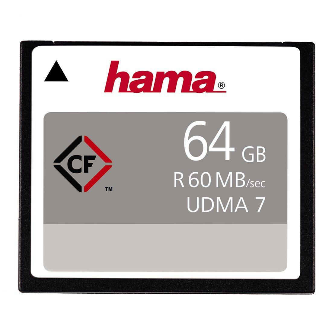 Hama Speicherkarte CompactFlash 64GB 60MB/s
