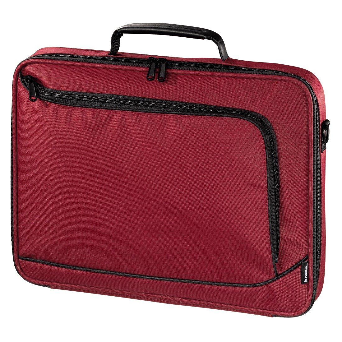 Hama Notebook-Tasche Sportsline Bordeaux, bis 44 cm (17,3), Rot