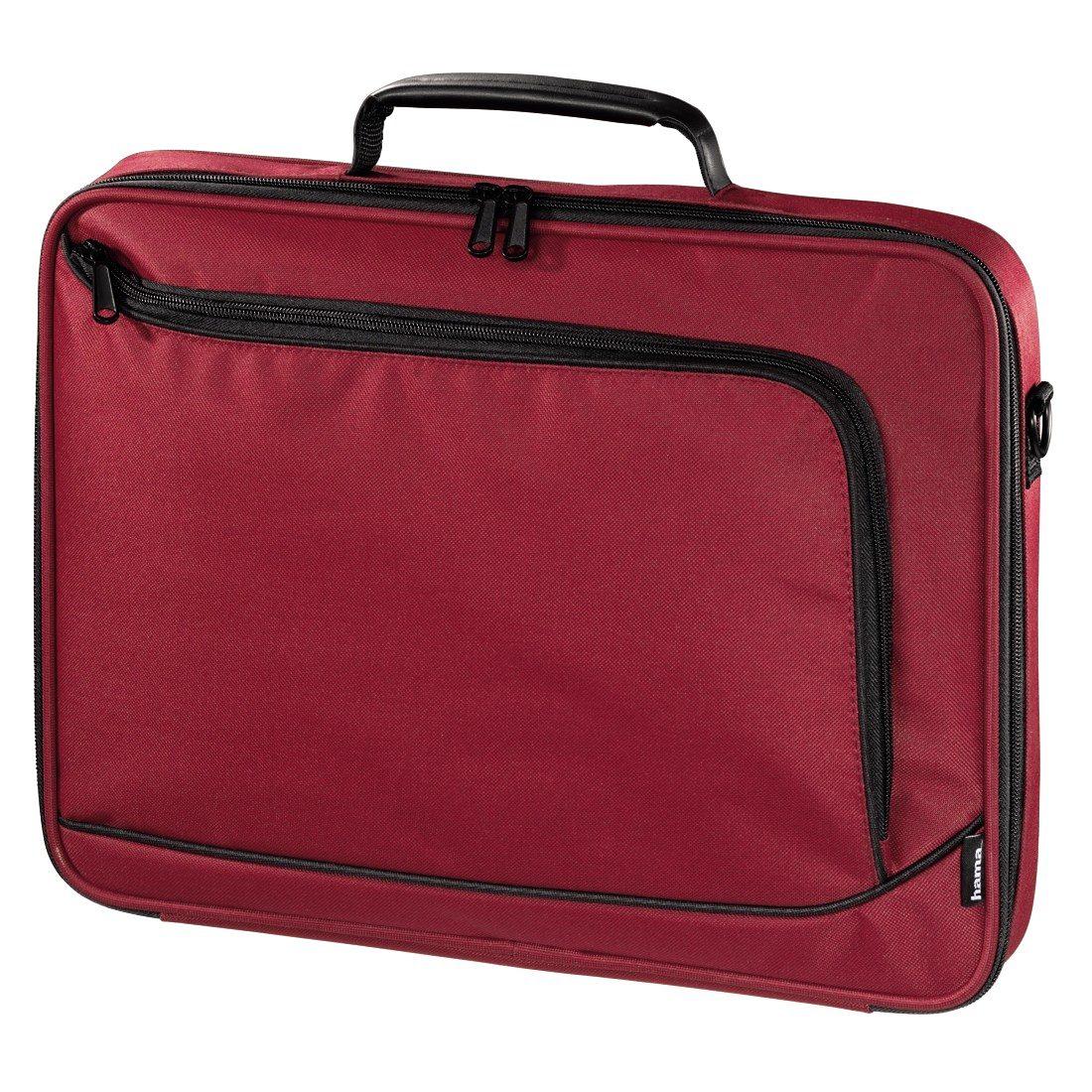 Hama Notebook-Tasche Sportsline Bordeaux bis 40 cm (15,6), Rot