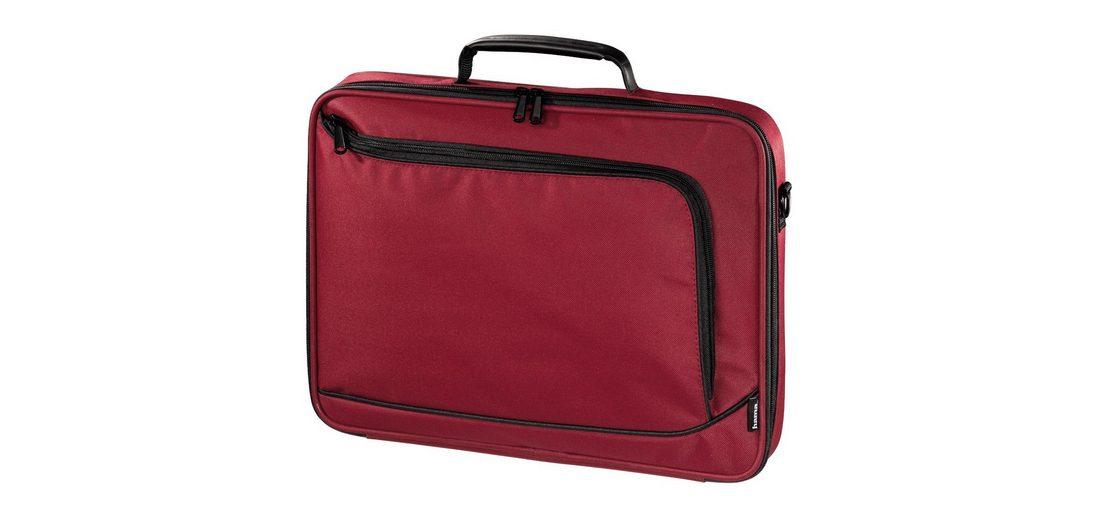 Hama Notebook-Tasche Sportsline Bordeaux Style, bis 40 cm (15,6)