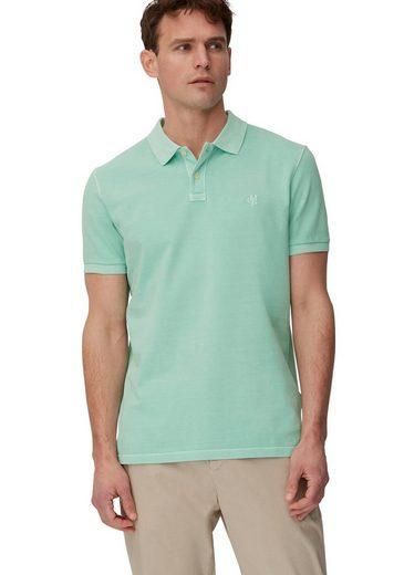 Marc O'Polo Poloshirt im Used- Look, Piqué- Qualität