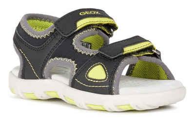Geox Kids »PIANETA« Sandale mit praktischen Klettverschlüssen