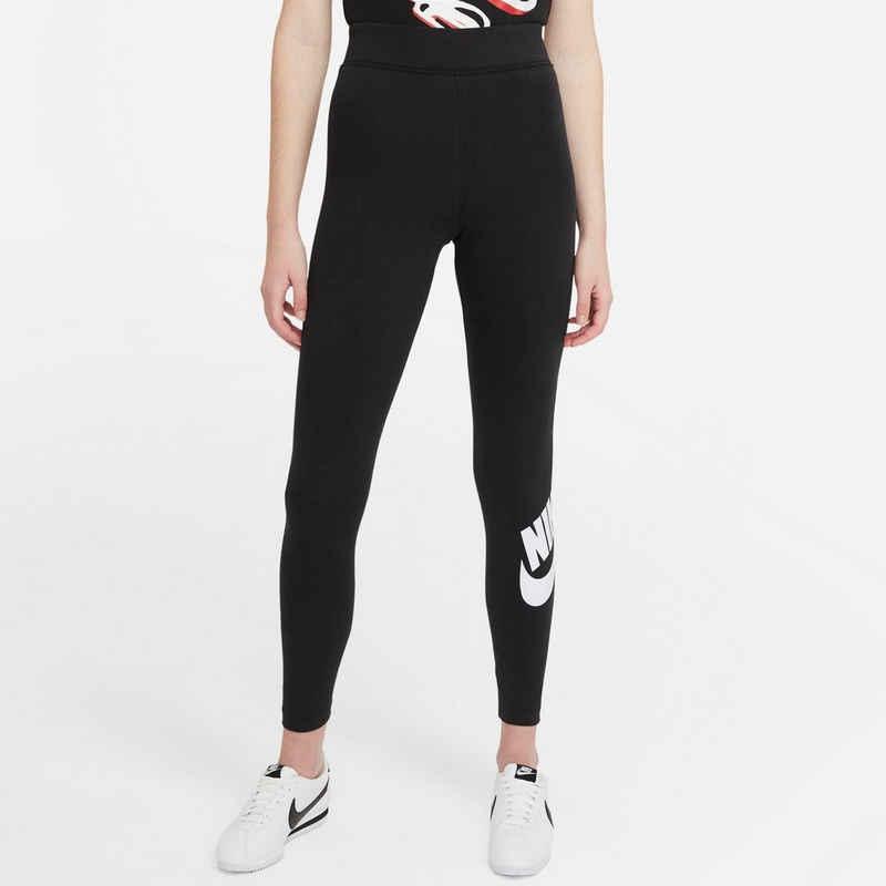 Nike Sportswear Leggings »Nsw Esntl Lggng Ftra Hr Plus Women's High-rise Leggings Plus Size«