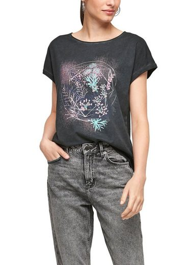 Q/S by s.Oliver Print-Shirt mit Frontprint