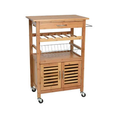 HTI-Living Küchenwagen »Küchenwagen Bambus«