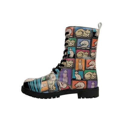DOGO »Cats and Boxes« Stiefel Vegan