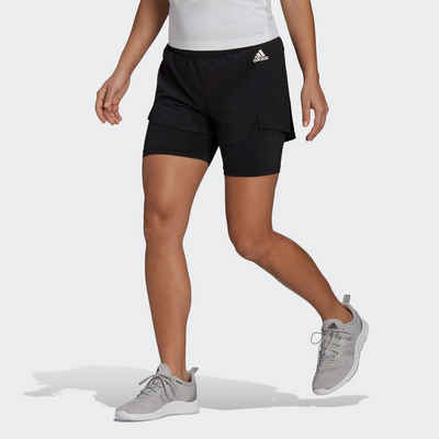 adidas Performance Shorts »PRIMEBLUE DESIGNED TO MOVE 2-IN-1 SPORT«