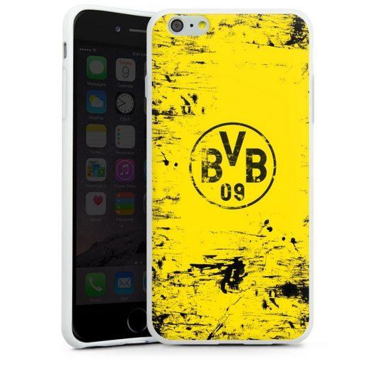 DeinDesign Handyhülle »BVB Destroyed Look« Apple iPhone 6s Plus, Hülle Borussia Dortmund Offizielles Lizenzprodukt BVB