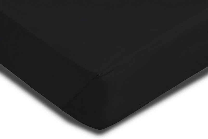 Spannbettlaken »Mikrofaser«, One Home, Single Pack mit Rundumgummizug