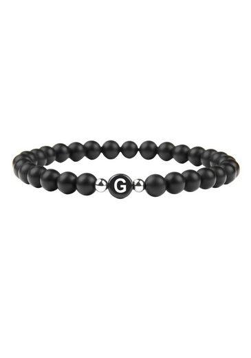 GOOD.designs Armband »Buchstabenperlen G«