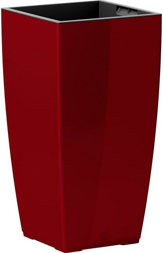 Blumenkasten »CASA Brilliant Säule«, BxTxH: 30x30x57 cm, rot