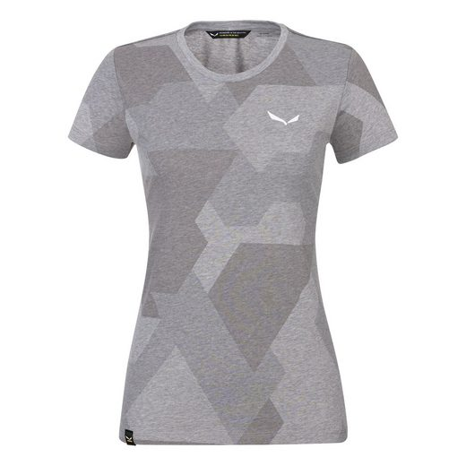 Salewa T-Shirt »Pattern Kurzarmshirt Damen - Salewa«