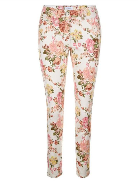 Hosen - Amy Vermont 7 8 Jeans mit floralem Muster allover ›  - Onlineshop OTTO