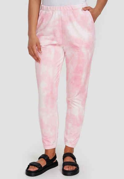 Cotton Candy Sweathose »PIPA« in tollem Batik-Look