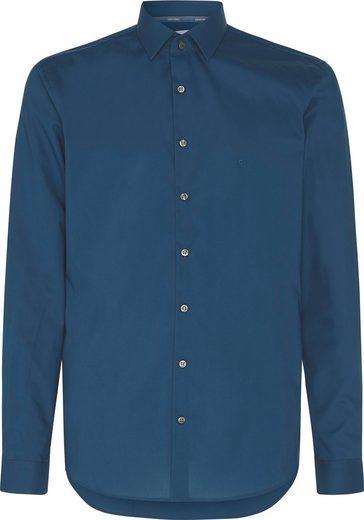 Calvin Klein Businesshemd »POPLIN STRETCH SLIM SHIRT«