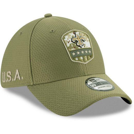 New Era Flex Cap »39Thirty Salute to Service New Orleans Saints«