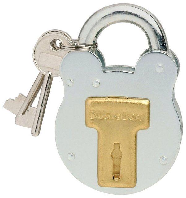 Master Lock Vorhängeschloss »Nostalgie«, Sicherheitsklasse 5, Stahl