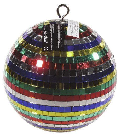EUROLITE Discolicht »Spiegelkugel 20cm - mehrfarbig - Diskokugel Echtglas - 10x10mm Spiegel - DEKO«
