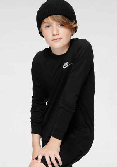 Nike Sportswear Langarmshirt »B NSW TEE LS EMB FUTURA«
