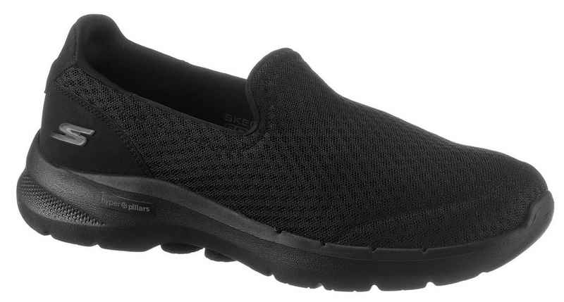 Skechers »GO WALK 6« Slip-On Sneaker für Maschinenwäsche geeignet