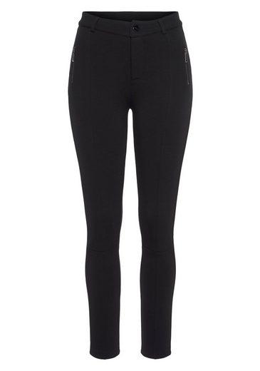 Mavi Stretch-Hose »ZIP DETAIL« mit Zipper Details