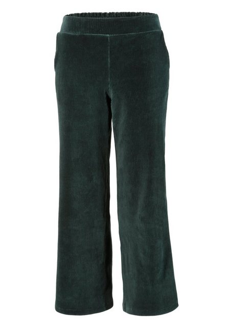 Hosen - Aniston CASUAL Cordhose in trendiger Culotte Form › grün  - Onlineshop OTTO