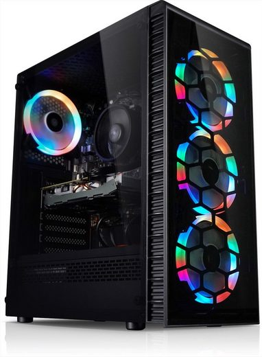 Kiebel Inferno Gaming-PC (AMD Ryzen 5 AMD Ryzen 5 3600, GTX 1660 SUPER, 16 GB RAM, 1000 GB SSD, Luftkühlung, ARGB-Beleuchtung)