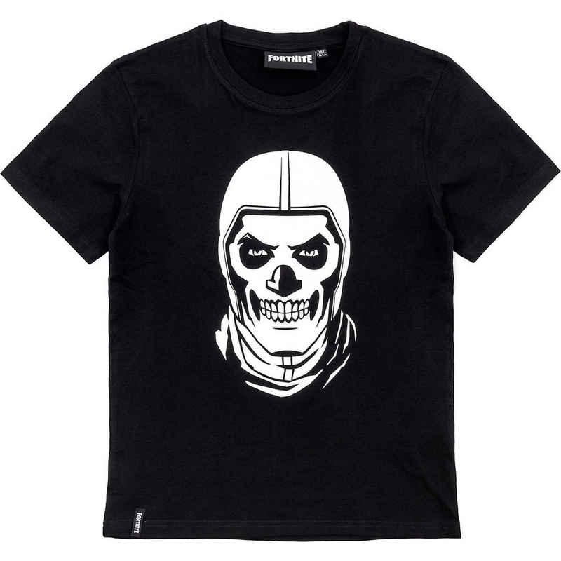 Fortnite T-Shirt »T-Shirt SkullTrooper bl/print 176cm«