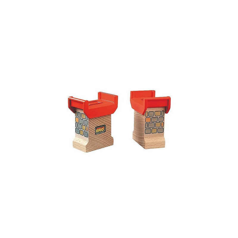 BRIO® Spielzeug-Eisenbahn »Brückenfundament (2 Stück)«