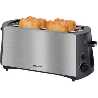 Cloer Toaster Langschlitz-Toaster 3719