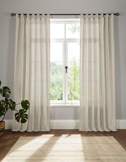 Vorhang »Elbsegel 1«, elbgestoeber, Schlaufen (1 Stück)