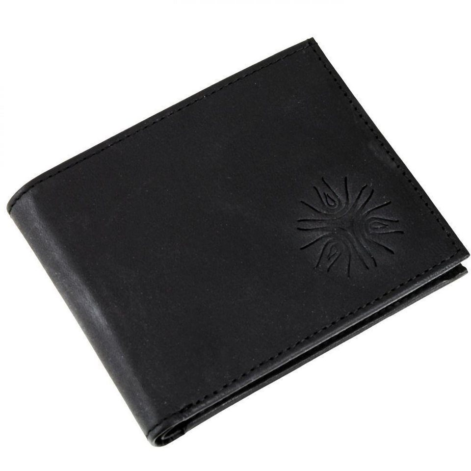 oxmox Leather Pocket-Geldbörse Leder 10,5 cm in triple