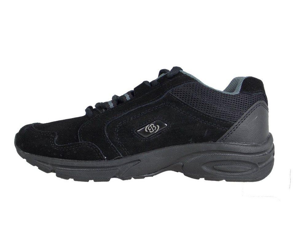 Brütting Nordic Walking Schuh mit dämpfungsaktiver Laufsohle »CIRCLE« in SCHWARZ/SILBER