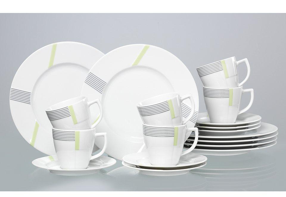 Porzellanserie «VERTIGO» in weiß
