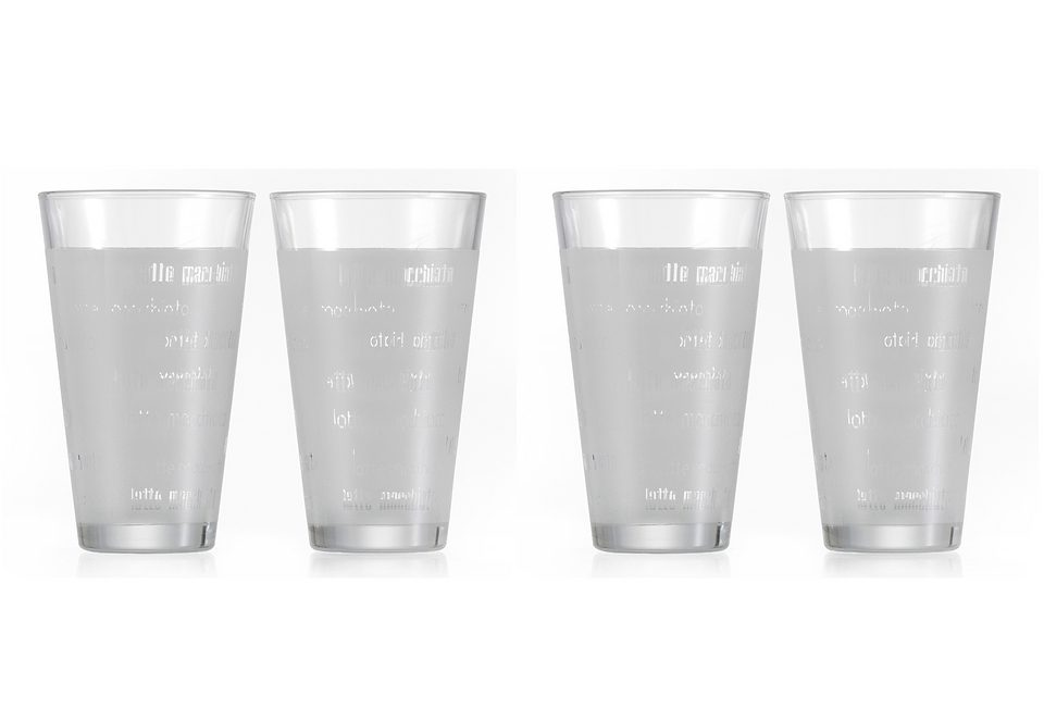 Latte-Macchiato Becher-Set «CHICCO» - 4-teilig