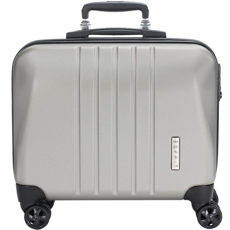 esprit vision 4 rollen business trolley 45 cm laptopfach online kaufen otto. Black Bedroom Furniture Sets. Home Design Ideas