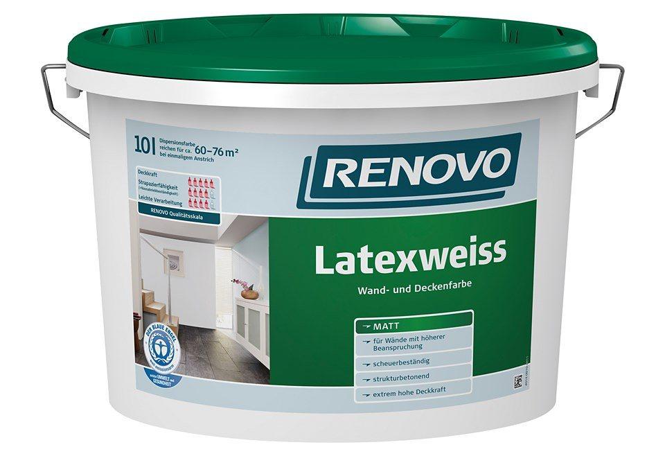 Latexweiss,10 Liter in weiß
