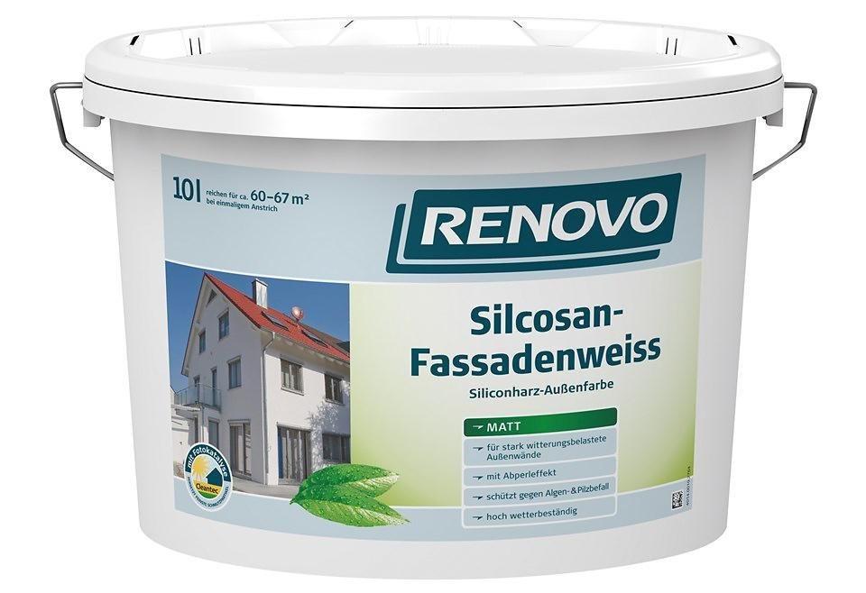 Fassadenweiss »Silcosan, weiß 10 L« in weiß