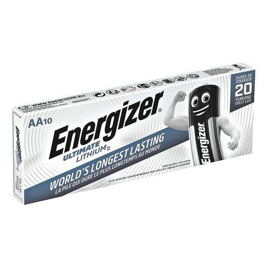 Energizer 10er-Pack Batterien Mignon / AA / FR6 »Ultimate Lithium«