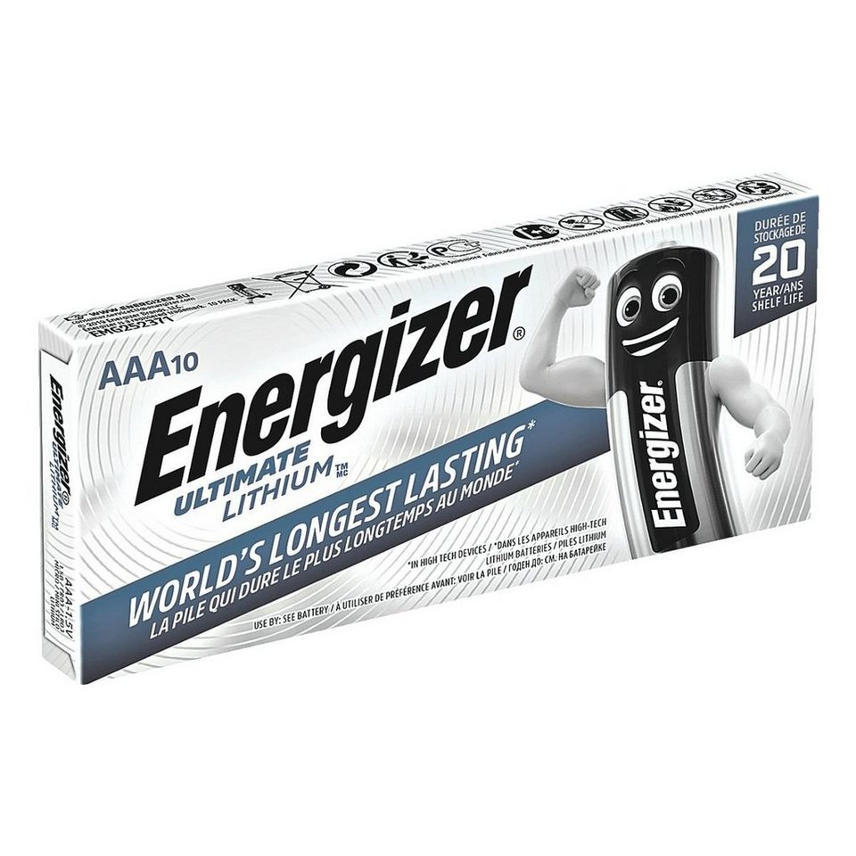 Energizer Batterien »Ultimate Lithium« Micro / AAA / FR3