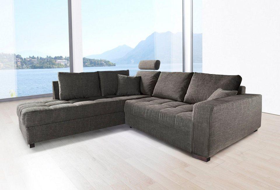 Polsterecke Inklusive Bettfunktion Online Kaufen Otto